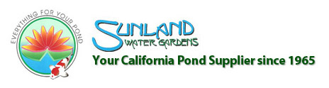 Sunland water gardens our pond supply expert for Pond expert