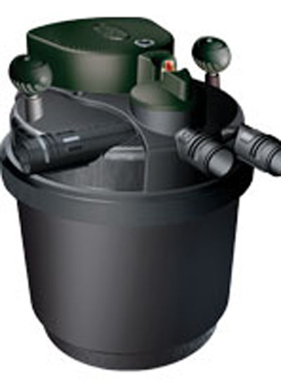 Pond filters laguna pressure flo 700 pressurized filters for Pond filter cleaning maintenance