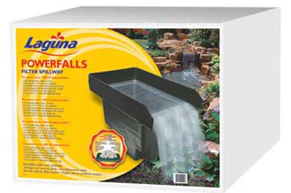 Laguna powerfalls filter, spillway filter, Laguna pt490