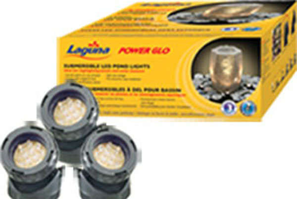 Laguna powerglo 12 led mini lights, pt-1561, small pond lights