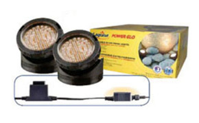 Pond supplies: Pond lights: PowerGlo Submersible 40 LED Pond Lights