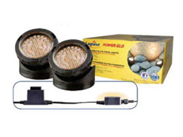 PowerGlo Submersible 40 LED Pond Lights, Pt1565, pond lights