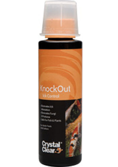 Knockout, crystal clear knockout, fish medication