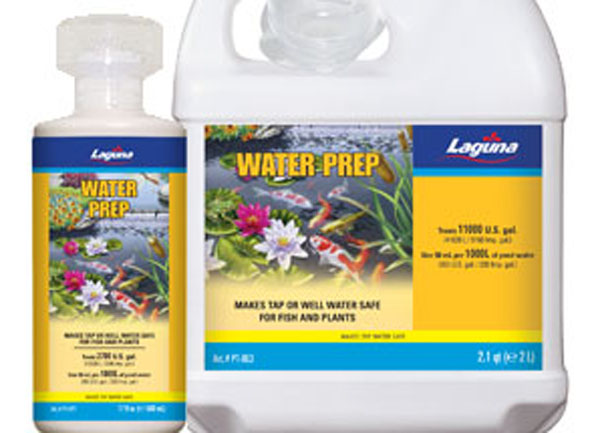 Laguna water prep, water conditioner, pond supplies