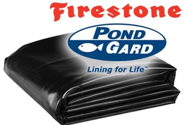 Pond liner, Firestone pond liner, custom pond building