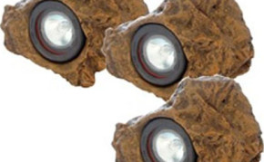 Pond Supplies: Pond Lights: Calais LED Natural Rock pond light