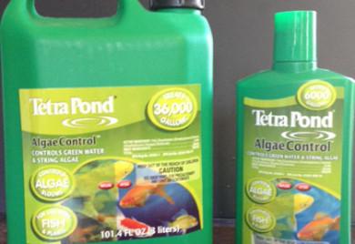 Tetra pond algae control, algae control, water treatment, pond s
