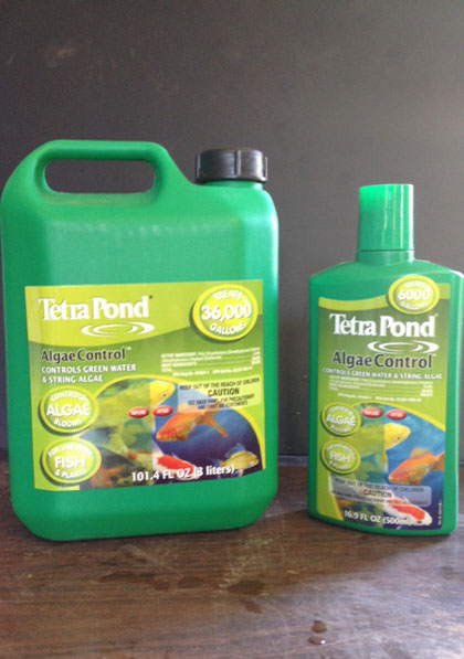 Tetra pond algae control, algae control, water treatment, pond s