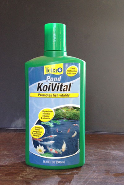 Tetra pond Koi Vital, Koi treatment, Koi vitamins, pond supplies