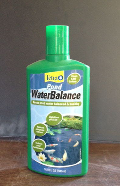 Tetra pond water balance, pond treatment, pond supplies, algae c