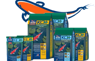 Pond supplies: Koi and goldfish food: Ultra balance Koi diet food
