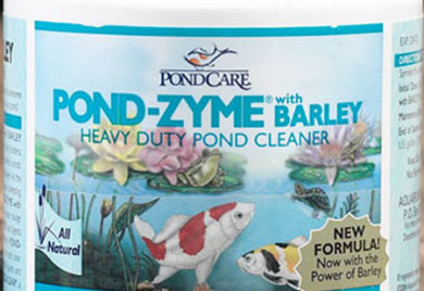 Pond care Pond Zyme with barley, beneficial bacteria