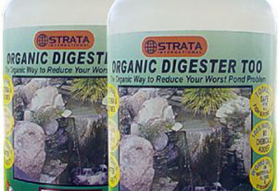 Pond care, pond maintenance, Strata ORGANIC DIGESTER too