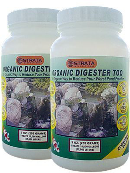 Pond care, pond maintenance, Strata ORGANIC DIGESTER too