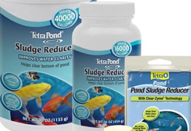 Tetra sludge reducer, pond supplies. pond care, beneficial bacte