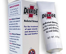 Pond Fish Supplies: Debride Medicated Ointment | Pond Fish