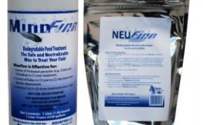 Pond Fish Supplies: MinnFinn & NeuFinn (1L - 2000 gallons) | Pond Fish