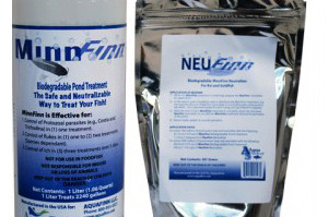 Pond Fish Supplies: MinnFinn & NeuFinn (1L – 2000 gallons) | Pond Fish