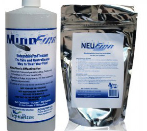 Pond Fish Supplies: MinnFinn & NeuFinn (1L - 2000 gallons) - Pond Fish Health Care - Pond Fish Supplies
