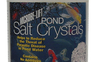 Pond Fish Supplies: Pond Salt Crystals by Microbe-lift | Pond Fish