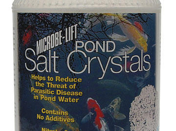 Pond Fish Supplies: Pond Salt Crystals by Microbe-lift - Pond Fish Health Care - Pond Fish Supplies