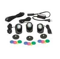 Lighting: 3 Light Egglite Kit 10w (with transformer) | Pond Lights