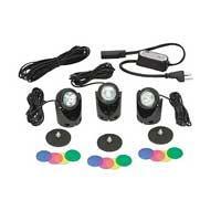 Pond Supplies: 3 Light Egglite Kit 10w (with transformer) - Pond Lighting - Pond Supplies