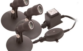 Lighting: Aquascape 3 light x 1w LED Kit | Pond Lights