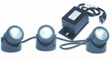 Pond Supplies: Beckett Accent Three Light Kit - Pond Lighting - Pond Supplies