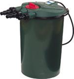 Pond Filters: Fishmate Pressurized UV Bio Pond Filter - Pond Pumps & Pond Filters