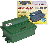 Pond Filters: Fishmate (non-pressurized) Bio Pond Filter with UV - Pond Pumps & Pond Filters