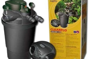 Pond Filters: Laguna ClearFlo Filter & Max-Flo Pump COMBO | Laguna Filters