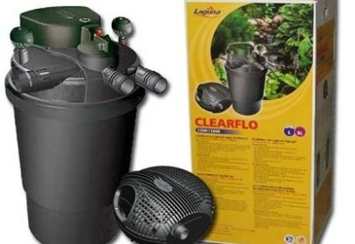 Pond Filters: Laguna ClearFlo Filter & Max-Flo Pump COMBO - Pond Pumps & Pond Filters