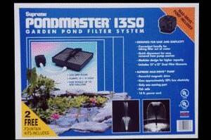 Pond Filters: Pondmaster 1350 Submersible Filter Kit | Submersible Pond Filters
