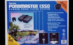 Pond Filters: Pondmaster 1350 Submersible Filter Kit | PondMaster Filters