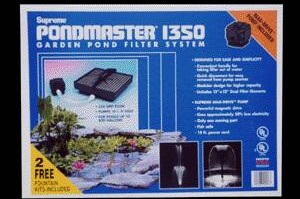 Pond Filters: Pondmaster 1350 Submersible Filter Kit | PondMaster Filters
