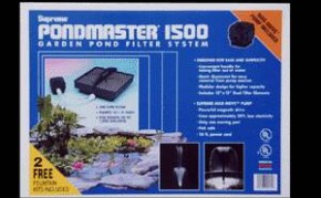 Pond Filters: Pondmaster 1500 Submersible Filter Kit | Submersible Pond Filters
