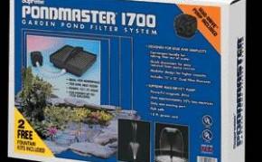Pond Filters: Pondmaster 1700 Submersible Filter Kit | Submersible Pond Filters