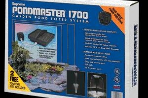 Pond Filters: Pondmaster 1700 Submersible Filter Kit | PondMaster Filters