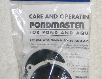 Pond Supplies: Pondmaster Air Pump Rebuilding Kit - Aeration - Pond Supplies