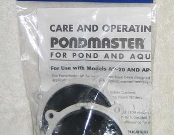 Pond Supplies: Pondmaster Air Pump Rebuilding Kit - Pond Aeration - Pond Air Pumps