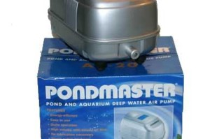 Pumps & Filters: Pondmaster Deep Water Air Pump | Pond Maintenance