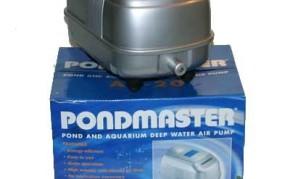 Pond Pumps & Pond Filters: Pondmaster Deep Water Air Pump   Pond Maintenance