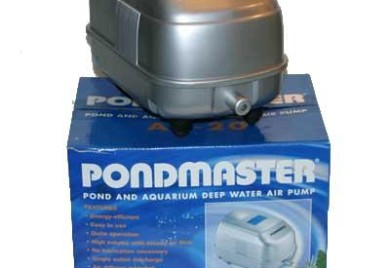 Pond Supplies: Pondmaster Deep Water Air Pump - Pond Aeration - Pond Air Pumps