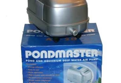 Pond Supplies: Pondmaster Deep Water Air Pump - Pond Aeration - Pond Air Pumps