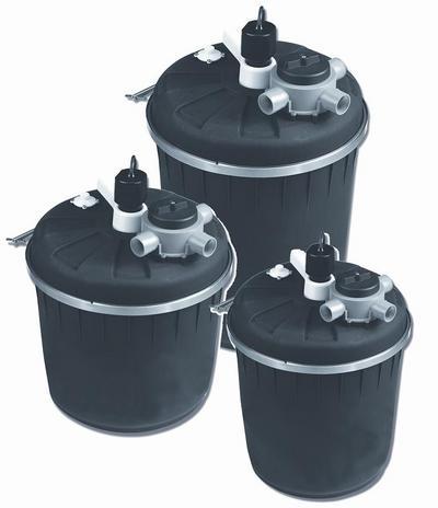 Pond filters pondmaster pressurized filter no uv pond for Garden pond no filter