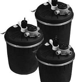 Pond Filters: Pondmaster Pressurized Filter w/UV - Pond Pumps & Pond Filters
