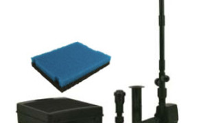 Pond Filters: Tetra FK5 Submersible Filter & Fountain Kit   Submersible Pond Filters