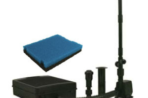 Pond Filters: Tetra FK5 Submersible Filter & Fountain Kit | Submersible Pond Filters