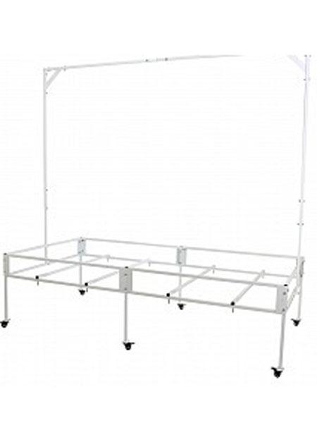 Aquaponics Tray table, Tray table, 8x4 tray table